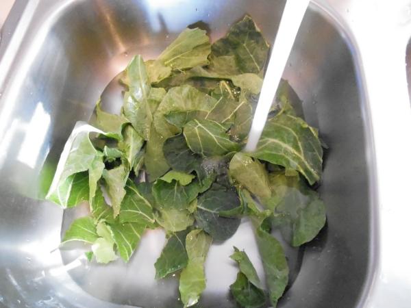 Collard Greens, Kale, Turnip Greens, New Year's Dinner