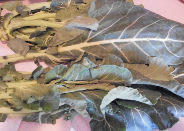Collard Greens, Turnip Greens, Kale, New Year's Dinner